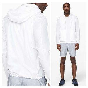 Lululemon Active Jacket White Small Men's